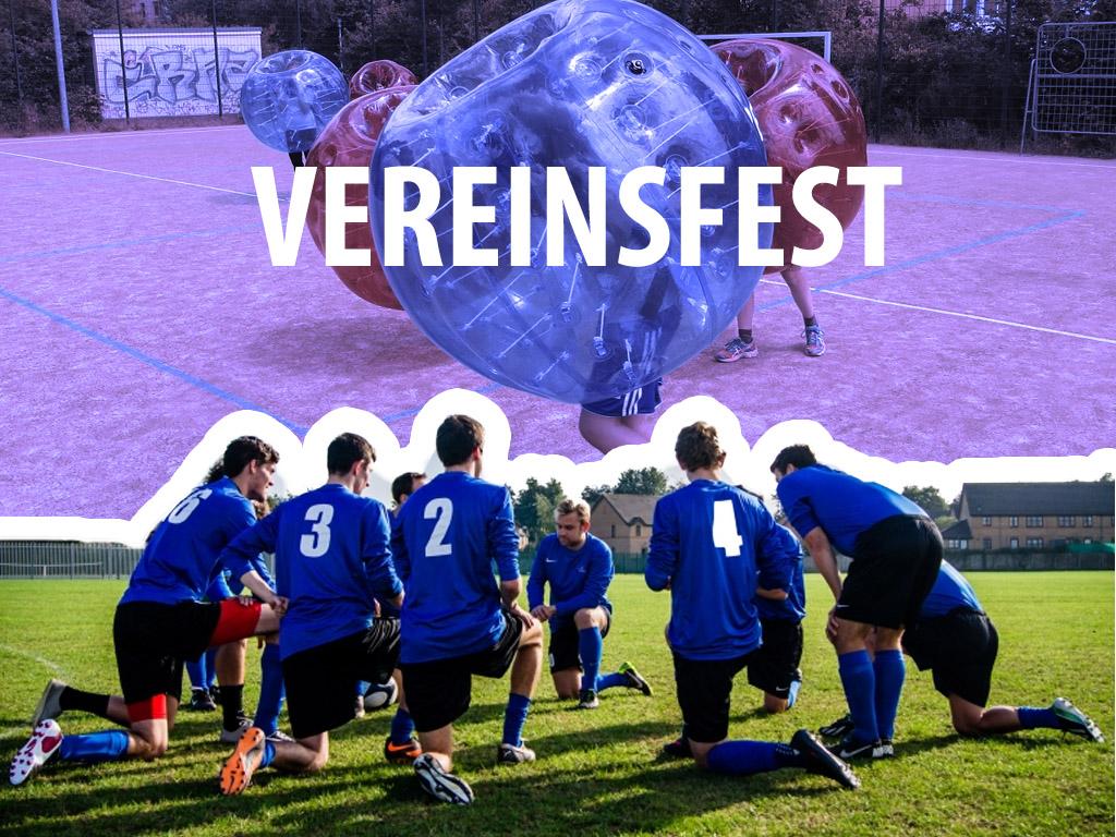 Vereinsfest in Leipzig